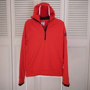 Women's Adidas Orange Sweatshirt S